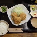 シャ豚ブリアン(雪室熟成豚)定食