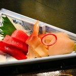 お料理 ほし - 【造り:鮪、北寄、帆立】♪2010/5