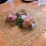 巡礼街道の洋食屋35 - 白身魚のカルパッチョ2015.05.31