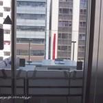 マーサーブランチ - 中央通りに面したバルコニーテラス席