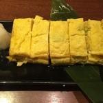 活彩旬魚 さんかい - 料理写真:ネギ入り出汁巻き玉子焼、580円です。
