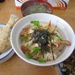 海鮮大海 - ほっきめし(900円)@海鮮大海
