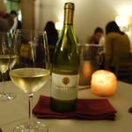 インド料理 想いの木 - 白ワイン「サンタヘレナ 」  2015年3月