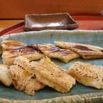 竹寿司 - 煮穴子焼き 穴子は東京羽田