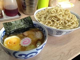 裏サブロン - つけ麺 鶏がらクラシック 大盛(700円)