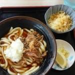 どんどん - 肉ぶっかけうどん (490円)