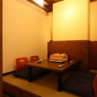 完全個室でご案内。