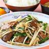 中井食堂 中井パーキングエリア(PA)下り線 - 料理写真:レバニラ定食