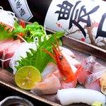 和が家 - 料理写真:石川と言えば海の幸!毎日新鮮な旬の魚を仕入れています。