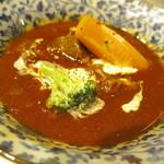 炭焼牛たん東山 - 「牛たんアラカルト定食」のシチュー