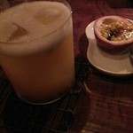 Bar 甑 - パッションフルーツのカクテル