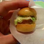 モナリザ - 【夏の園遊会(笑)】一口サイズのフィッシュバーガー