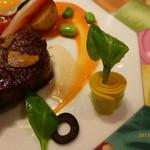 モナリザ - 【夏の園遊会(笑)】国産牛ロース肉のロースト ニース風野菜添え
