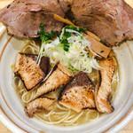 38854665 - 鰤チャーシュー麺(塩)