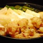 伐折羅 - ぷりぷりもつすき焼き