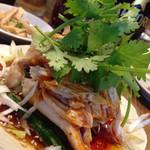 キリン - 冷製辛い蒸し鶏700円