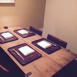 神楽坂 石かわ - 個室です