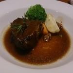 フレンチ小料理バル megane - 牛ホホ肉の赤ワイン煮込み