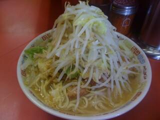 ラーメン二郎 ひばりヶ丘駅前店 - 美しい盛りです。^p^