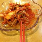 中国料理味神館 - 食べ放題のキムチ
