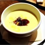 lumielune - とうもろこしの冷たいスープ       コーヒーゼリー