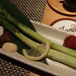 だいだらぼっち - 焼き野菜(アスパラ)