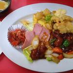 ます - 酢豚定食