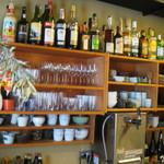 いやいやえん - ここから2015年6月ランチ土曜日、夜はバーとなるこのお店、お酒の種類も豊富です。