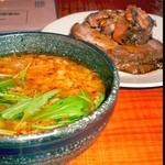 イツワ製麺所食堂 - 焼豚トッピン
