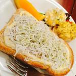 コンレチェ - しらすトースト(期間限定)
