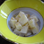 山下家 - 料理写真:あずは和え物から