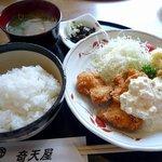 奇天屋 - チキンカツ定食