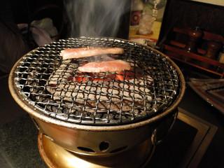 炭火焼肉ピカソ 本店 - 七厘(料理と別途で200円)