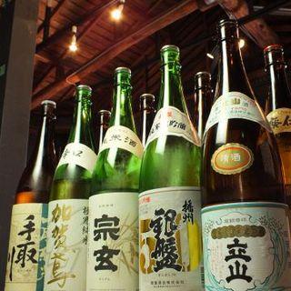 石川・富山の地酒が豊富