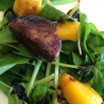 プリマベーラ - フォアグラとマンゴーのサラダ