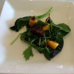 プリマベーラ - マンゴーとフォアグラのサラダ