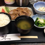 新日本料理 美正 - 肉の生姜焼