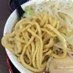 麺屋 元 - 太麺ストレート
