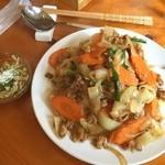 エイケイコーナー - 初めての麺ランチをAKcornerで\(^o^)/       タイの辛口 米粉麺\(^o^)/