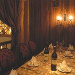 フランツィスカーナー バー&グリル - 貴族のダイニングルームのような特別室
