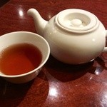 38880074 - 最初にホット烏龍茶がサービスされます