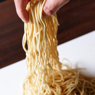 九州産小麦100%使用した麺