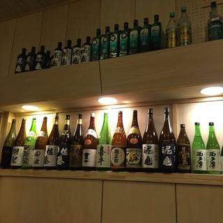 日本酒もマッコリも焼酎も!