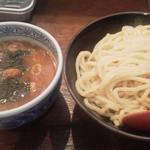 38884201 - つけ麺中盛 730円