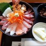 市場食堂 - 海鮮丼(旧店舗)