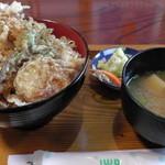 太郎鮨 - H27年6月、天丼680円