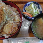 太郎鮨 - 天丼(真上)