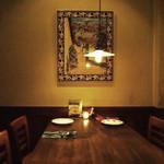 マヌエル・コジーニャ・ポルトゲーザ - タイル絵がある唯一のテーブル