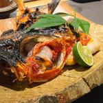 魚匠 梶 - 静岡・金目鯛の塩焼き