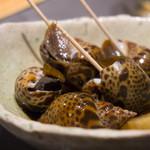 魚匠 梶 - バイ貝のうま煮